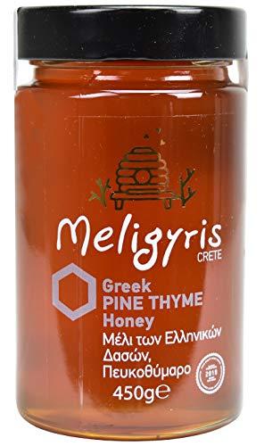 Griechischer Honig aus Kiefer und kretischem Thymian von Meligyris | Reiner unvermischter kretischer Honig (450)