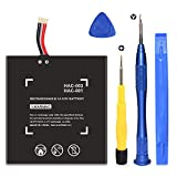 HAC-003 Battery Replacement for Switch 2017 Game Console HAC-001 Internal Upgrade 4400mAh Battery with Repair Tool Kit