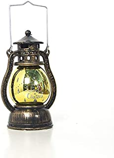 Professional Oil Lamp Burning Lantern Vintage Hanging Small Ornament Christmas Candle, Metal Hanging Lantern - Rustic Lantern, Lantern Baskets, Moroccan Lantern Hanging, Ceramic Decorative Lantern