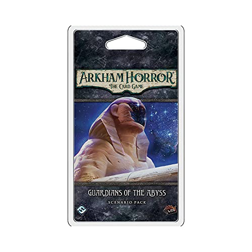 Arkham Horror The Card Game Guardians of the Abyss SCENARIO PACK   Horror Game   Mystery Game  ...