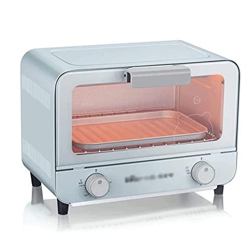 UOOD Elektrischer Ofen Multifunktionaler Haushalt Mini Kleiner Backofen 9L Backen Backkuchen Brot Keksmaschine 800w Backbrotmaschine