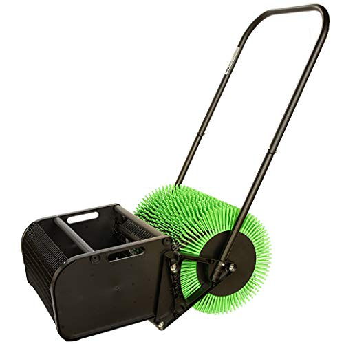 "Bag-A-Nut 18"" Push Pecan Harvester – Also Picks up Large Acorns, Hazelnuts/Filberts, and Almonds – Nut Picker Upper"