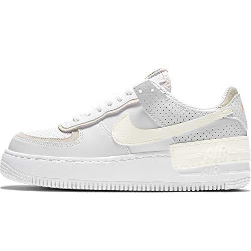 Nike WMNS Air Force 1 SHADOW SE - Zapatillas deportivas (talla 38,5), color blanco