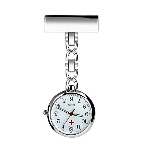 WONOLO Nurse Lapel Pin Fob Watch Nursing Hanging Medical...