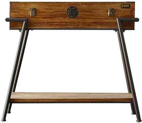 CHGDFQ - Scarpiera in ferro da stiro, in legno massello, per ingresso, armadio, decorazione per corridoi, stile vintage