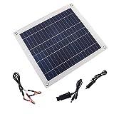 Frieed Paneles solares de polisilicon de 23W Polisilicio Semi-Suave Panel Solar para Paneles solares Semi-Flexibles Exteriores Durable