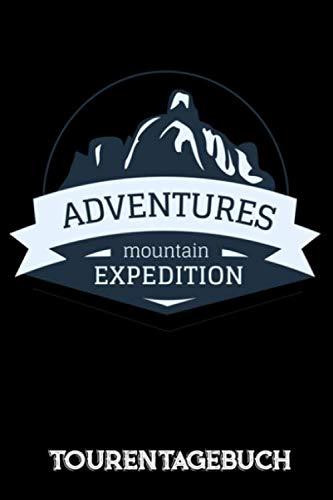 Tourentagebuch: Das Skitourentagebuch für Tourengeher Bergsteigen || 50 Lieblingstouren in einem Buch || Mit Seitennummerierung und Register || Ca. A5 || Softcover