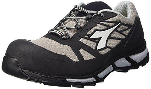 Diadora D-Trail Low S1P HRO werkschoenen, heren, SRA, grijs (grijs/zwart), 45 EU (10,5 UK)