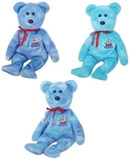 TY Beanie Babies - NINA, PINTA & SANTA MARIA (Set of 3 - Columbus Bears)