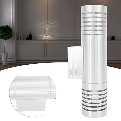 Hoseten Lámpara Decorativa, Lámpara de Pared Plata IP20 Impermeable para Salas de Estar para Armarios para Salas de Exposiciones para Dormitorios