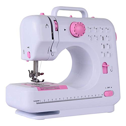 Costway Sewing Machine Household Multifunction Double Thread...