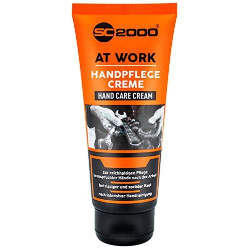 Handcreme für Männer Arbeitshände 100ml Tube Hand Creme Working cream für sehr trockene und rissige Hände Herren Werkstatt hohe Beanspruchung Öl kleine Verletzungen