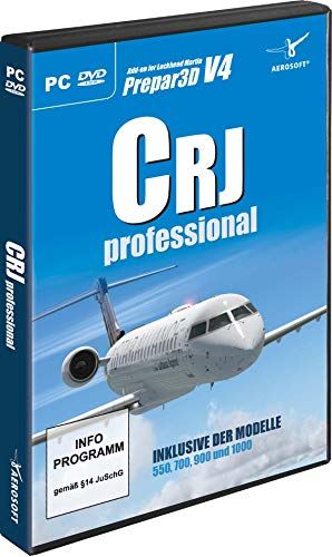 AddOn FSX CRJ Professional AddOn zum Flight Simulator X - [PC]