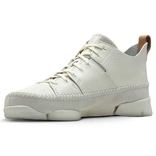 Clarks Originals Herren Trigenic Flex Sneakers, White, 44 EU