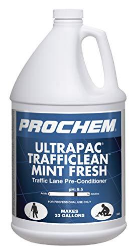 Prochem Ultrapac Trafficlean Mint Fresh Professional Traffic Lane Cleaner, 1 Gal.