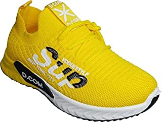 LNG Lifestyle Boys & Girls Slip on Sneakers (Yellow) LNG-161Yellow39
