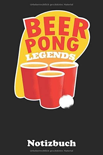 Beer Pong: Notizbuch für wahre Spieler und Champions von Bier Pong| Nutzung als Notizbuch, Tagebuch, Malbuch, Skizzenbuch etc. | 120 Seiten kariertes Papier | A5-Format | Greif zu Bruder!