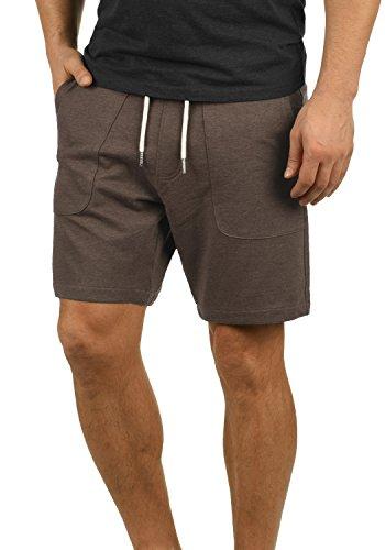 Blend Mulker Herren Sweatshorts Kurze Hose Jogginghose Mit Kordel Regular Fit, Größe:L, Farbe:Mocca Mix (70816)