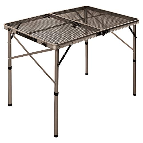 REDCAMP Aluminum Folding Grill Table