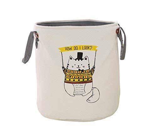 Storage Baskets Laundry Basket Nursery Organizer for Kids Toys, Bedroom &...