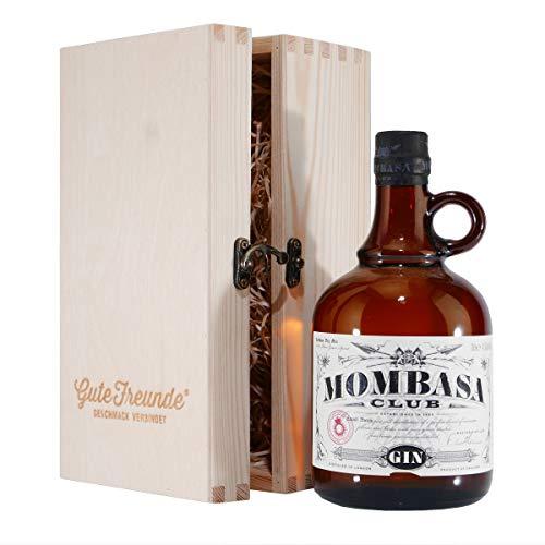 Mombasa Club London Dry Gin mit Geschenk-HK