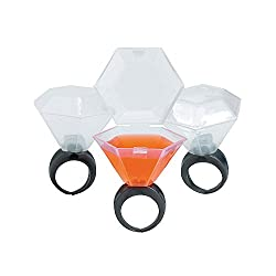 wedding ring shot glass valentine's day gift amazon