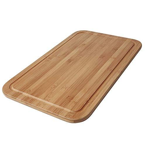 Tábua Para Corte Bamboo 50cm X 30cm Mor