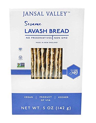 Jansal Valley Sesame Lavash, 5 Ounce