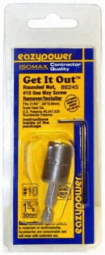 8 Get-It-Out One Way Screw//Rounded Bolt Nut Remover Extractor Eazypower No