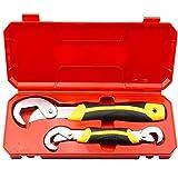 Wutingkong La nueva llave ajustable Portátil de mantenimiento de automóviles Torcocho Llave de llave inglesa Herramientas manuales para el hogar Herramientas de hardware (Color : A)