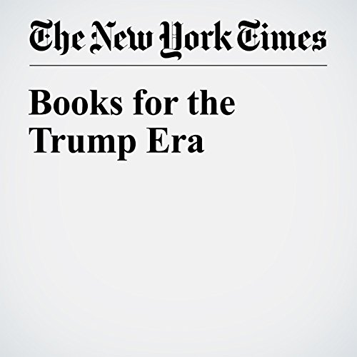 Books for the Trump Era audiobook cover art