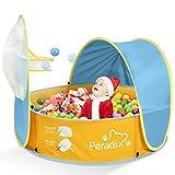 Peradix Baby Zelt Pop Up Bällepool ,Tragbare Kinder Spielzelt Bällebad Sonnenschutz Zelt Indoor Outdoor Baby Planschbecken Strand Baldachin Zelt Garten