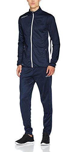 uhlsport Herren Essential Classic Anzug Trainingsanzug, Marine/Weiß, XL