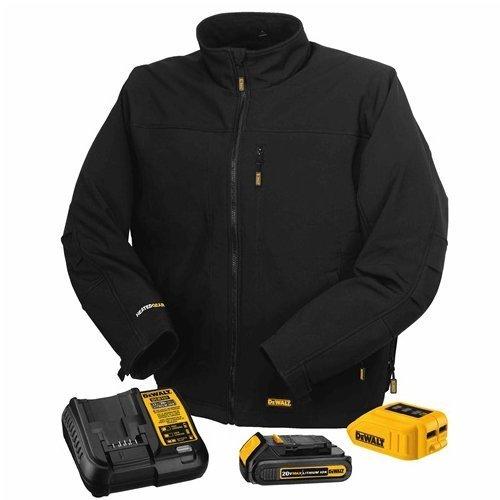 DEWALT DCHJ060C1-3XL 20V/12V MAX Black Heated Jacket Kit,...