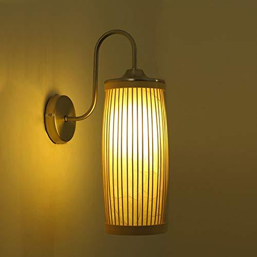 Creatieve minimalistische studioverlichting van wandlampen, traphuis-gang-bamboelamp van moderne Japanse buitenverlichting
