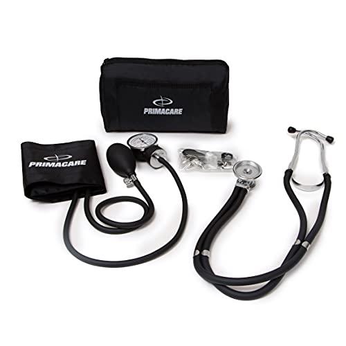 Primacare Medical Supplies DS-9181-BK Black Professional Blood Pressure Kit...