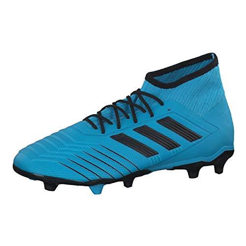 adidas Performance Herren Fußballschuhe Rasen Predator 19.2 FG blau/schwarz (959) 40EU