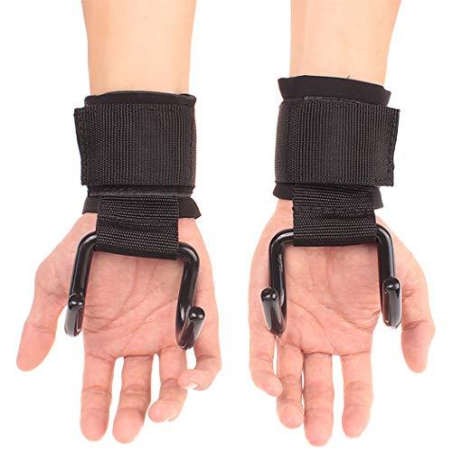 Lifting de rat/ón Alternativa A Gimnasio Guantes Lifting Grips de Entrenamiento Halterofilia Ejercicio Crossfit Grips Workout