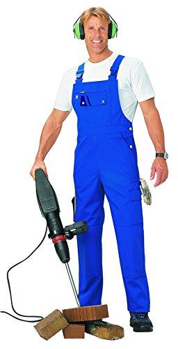 pka XXL Männer Latzhose Threeline Perfekt kornblau Übergrösse 66,Kornblau