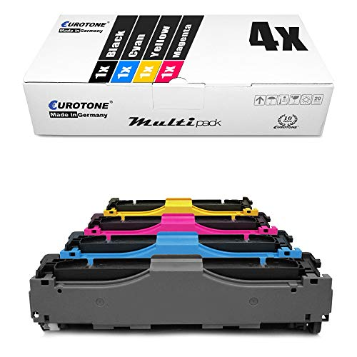 4X Eurotone Toner für Canon I-Sensys MF 724 726 728 729 8330 8340 8350 8360 8380 8540 8550 8580 cd Cx Cdw cdw CDN ersetzt 718