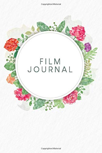 Film Journal: To capture all the movies and series you have watched to fill in   Design: Watercolour Flowers