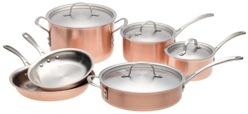 Calphalon Tri-Ply Copper, 10-Piece Set