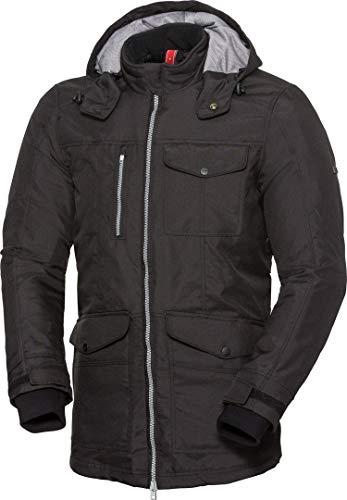 IXS URBAN-ST heren motorjas textiel jas Classic - zwart XX-Large zwart