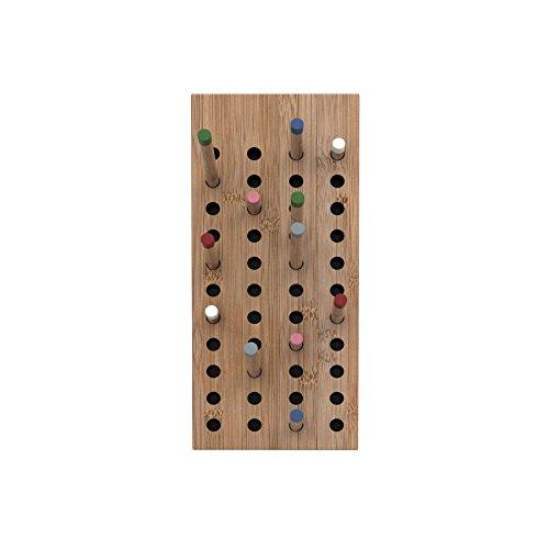 We Do Wood - Scoreboard Garderobe klein, Bambus Natur