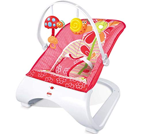 Great Price! ZWQ kids Comfort Curve Bouncer,Newborn-to-Toddler Rocker,Baby Swing Chair Seat with Cal...
