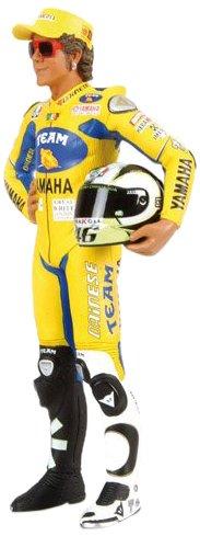 Minichamps 312060246 Modellino Pilota Standing V. Rossi MotoGP 2006 1/12 Valentino Rossi Collection