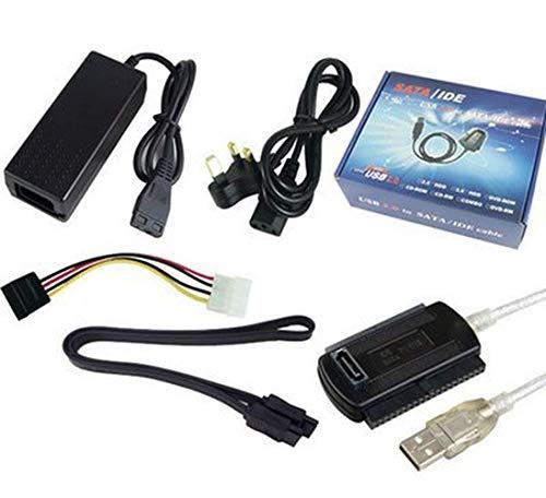 """TGSEA 1 Set USB 2.0 a IDE SATA S-ATA 2.5"""" 3.5"""" HD HDD Hard Drive Adapter USB3.0 Converter IDE SATA Power Cable"""