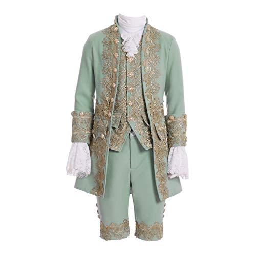 Coucou Alter Viktorianisches Kostüm für Herren, Rokoko-Kostüm, Jacke, Weste, Prinz, Cosplay,...