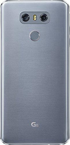 LG G6 Smartphone débloqué 4G (Ecran : 5,7 pouces - 32 Go - 4 Go RAM - Simple Nano-SIM - Android Nougat 7.0) Titane (Import Allemagne)