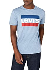 Levi's Sportswear Logo Graphic - Camiseta Manga Corta para Hombre Azul